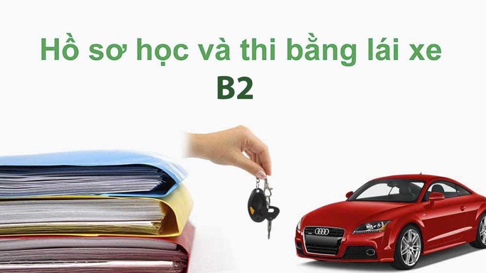 Lưu ý khi làm hồ sơ học bằng lái B2