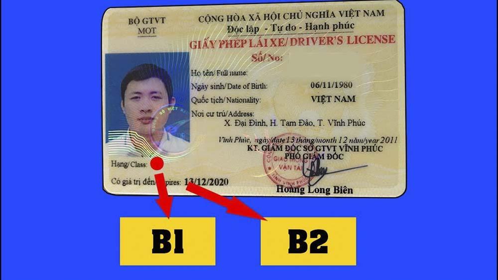 Sự khác nhau giữa bằng B1 và B2