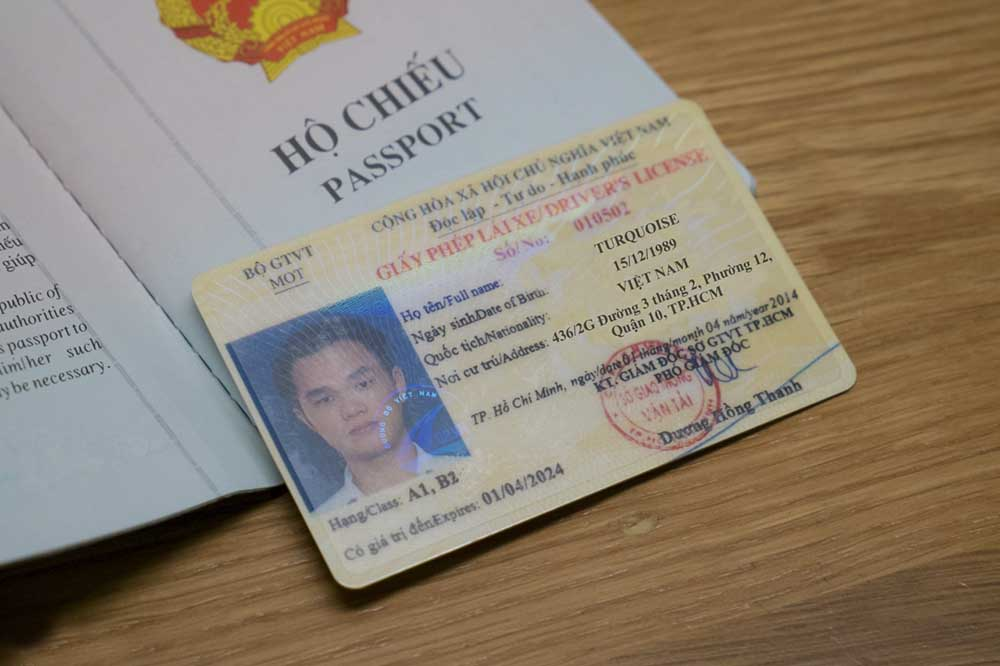 Hồ sơ đăng ký học lái xe B2