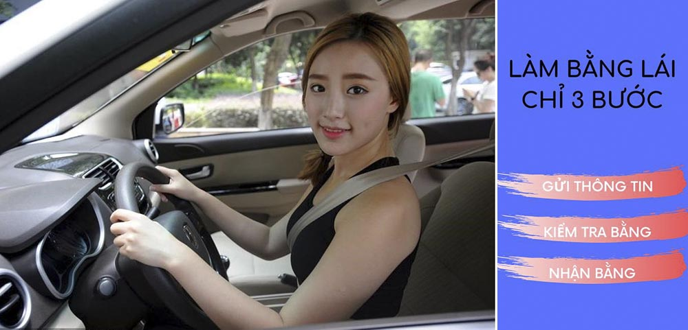 Mua bằng lái xe ô tô không cần thi được không?