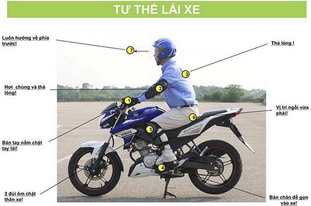 Lưu ý khi chạy xe Exciter 150 an toàn