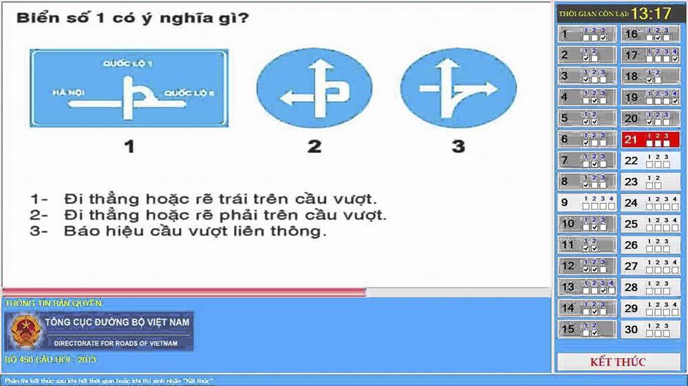 Cách thi thử bằng A2 online