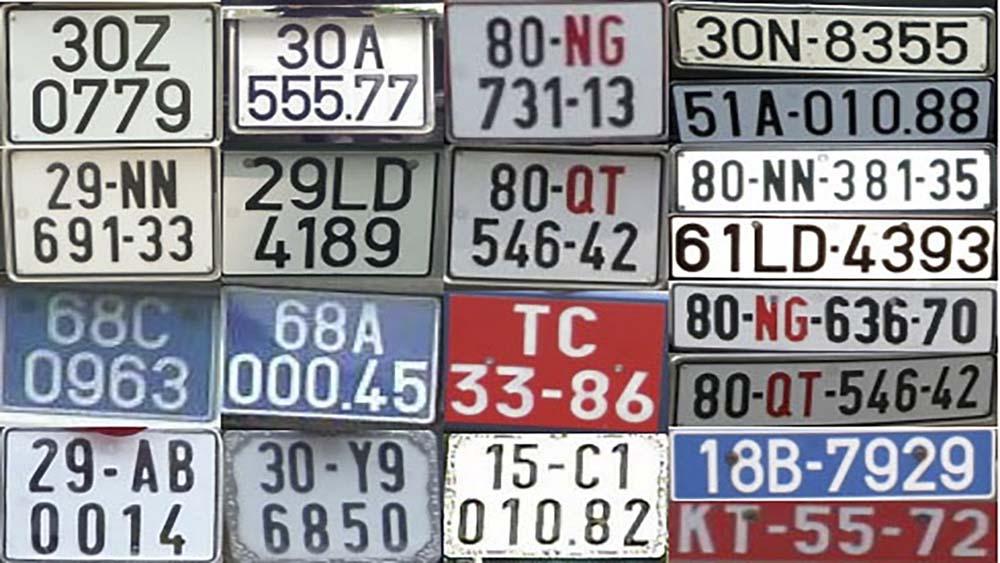Lưu ý về biển số xe phong thủy