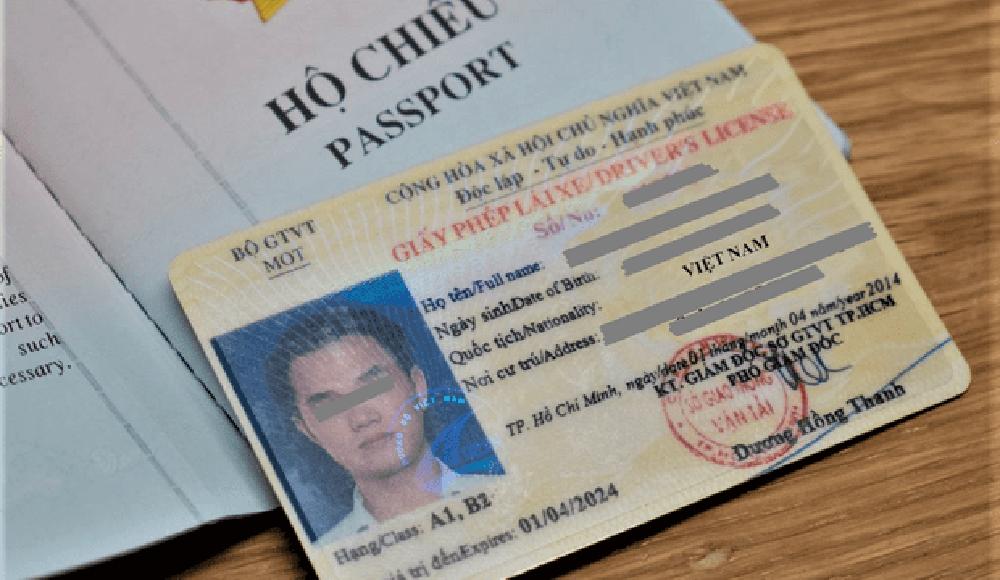 Thủ tục xin cấp lại bằng lái xe